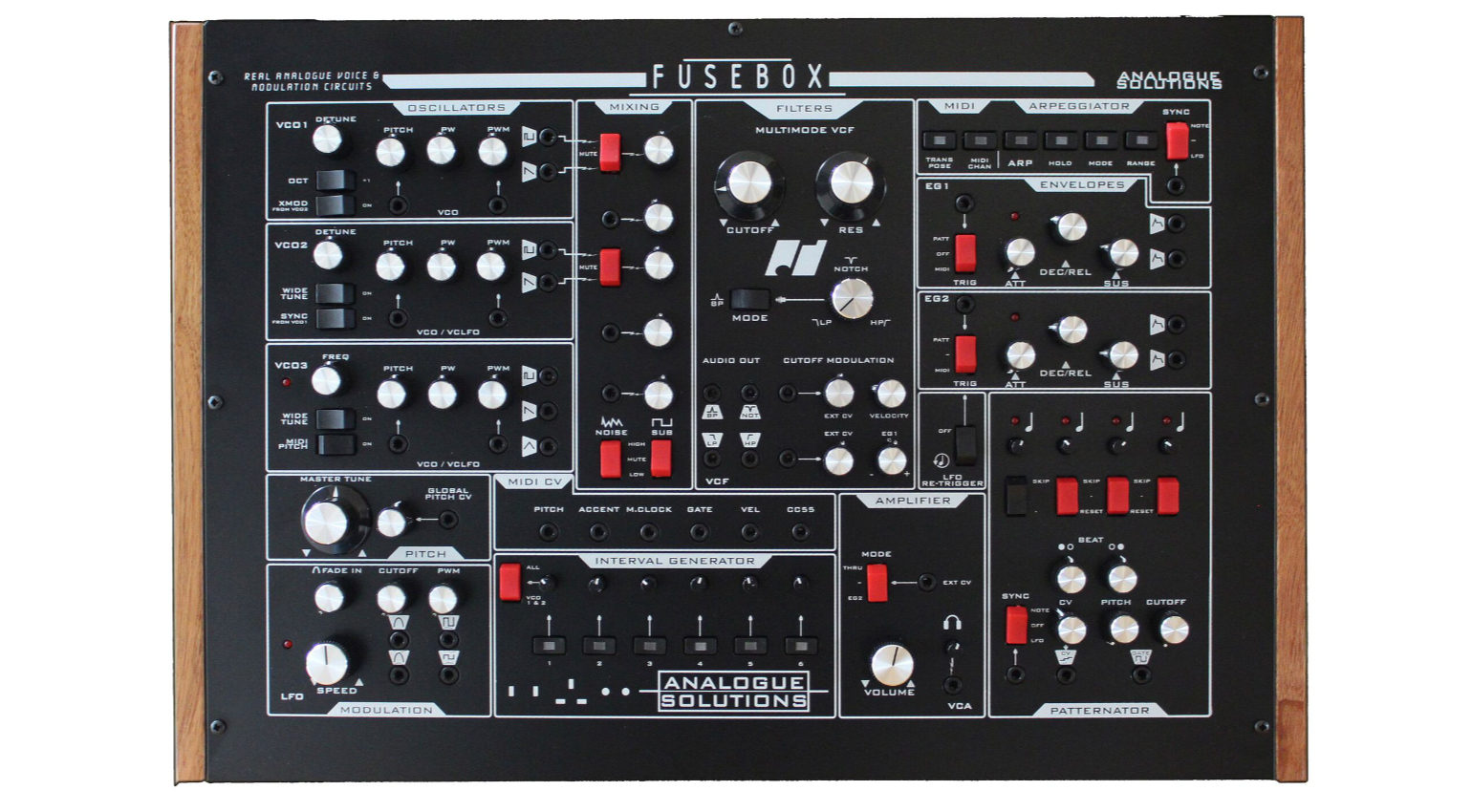 Analogue Solutions Fusebox Schwarz Sequencer Pulsar Fuse Box Related