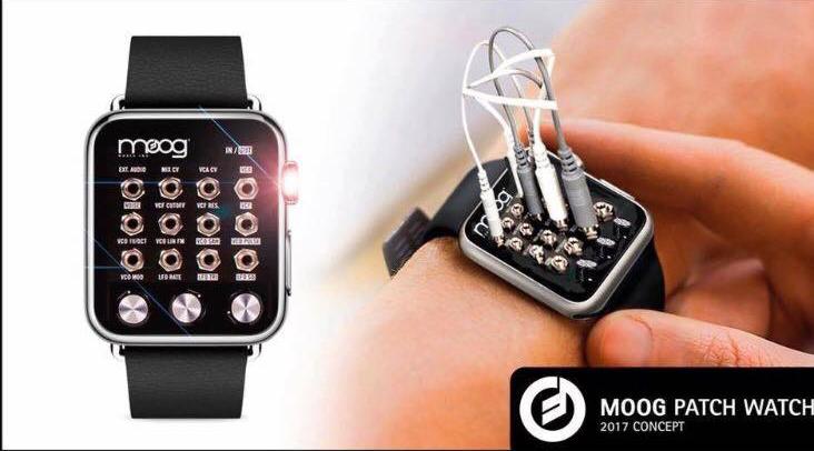 Moog Patch Watch