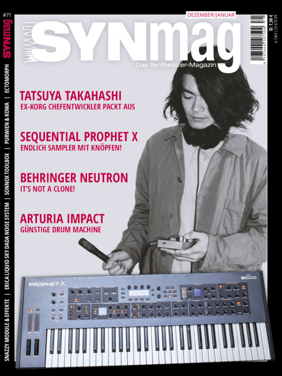 SynMag 71 - Das Synthesizer Magazin