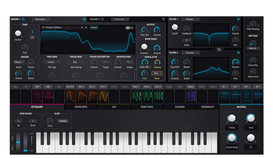 Arturia Pigments Wavetable Synth
