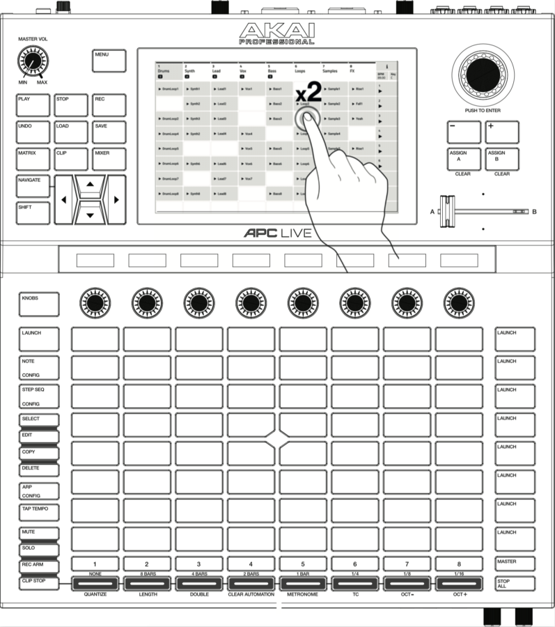 Akai Force Groovebox (Standalone) - Sequencer