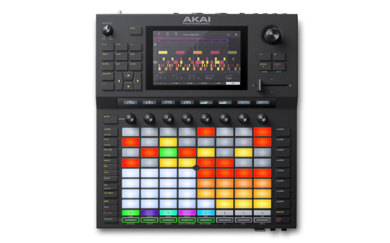 Akai Force Groovebox mit Ableton Live Funktion