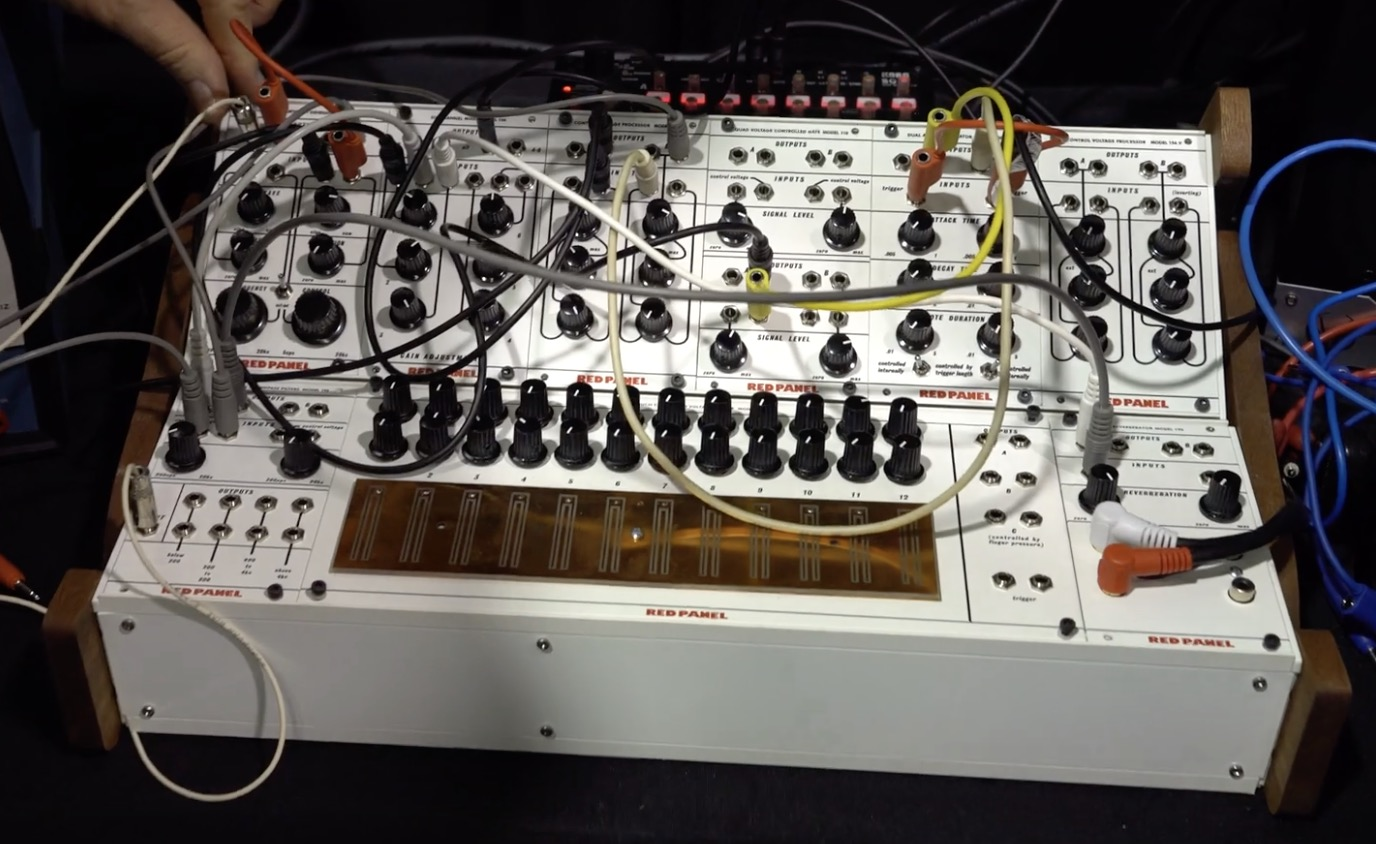 Buchla Red Panel System 100