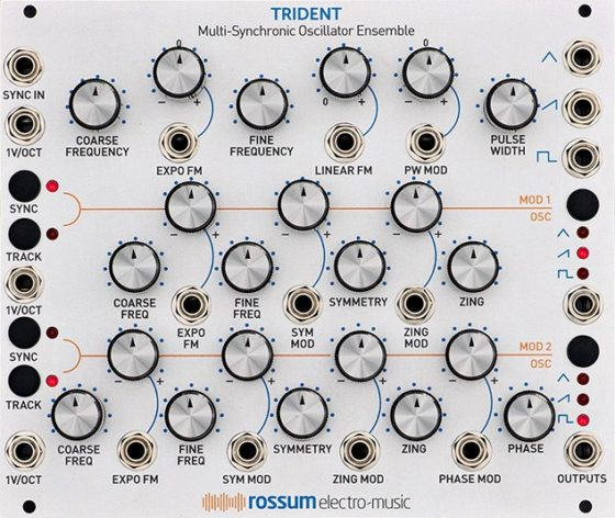 Rossum Trident Multi-Synchronic Oscillator Ensemble