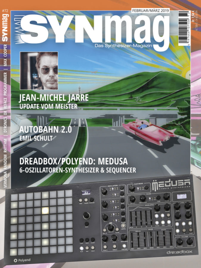 SynMag72 - Das Synthesizer-Magazin