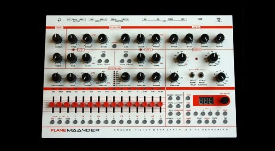 flame mäander synthesizer