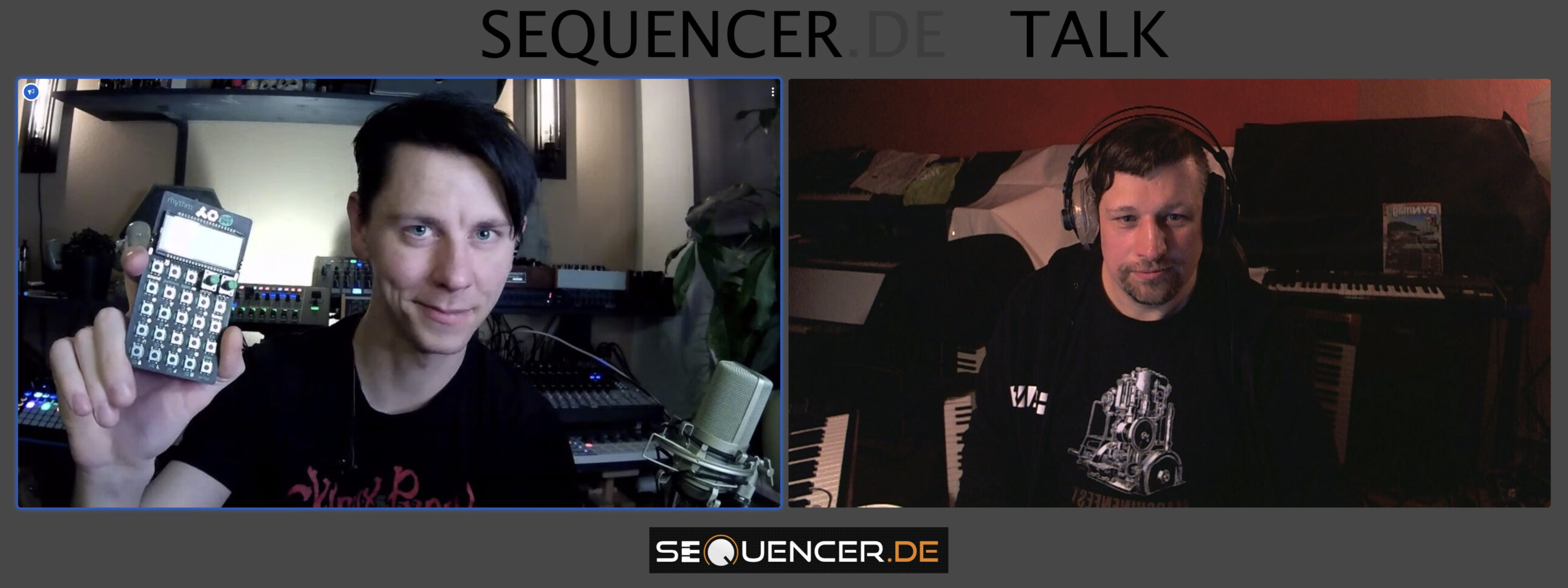 Sequencer Talk #1 Videocast Synthesizer & Musik
