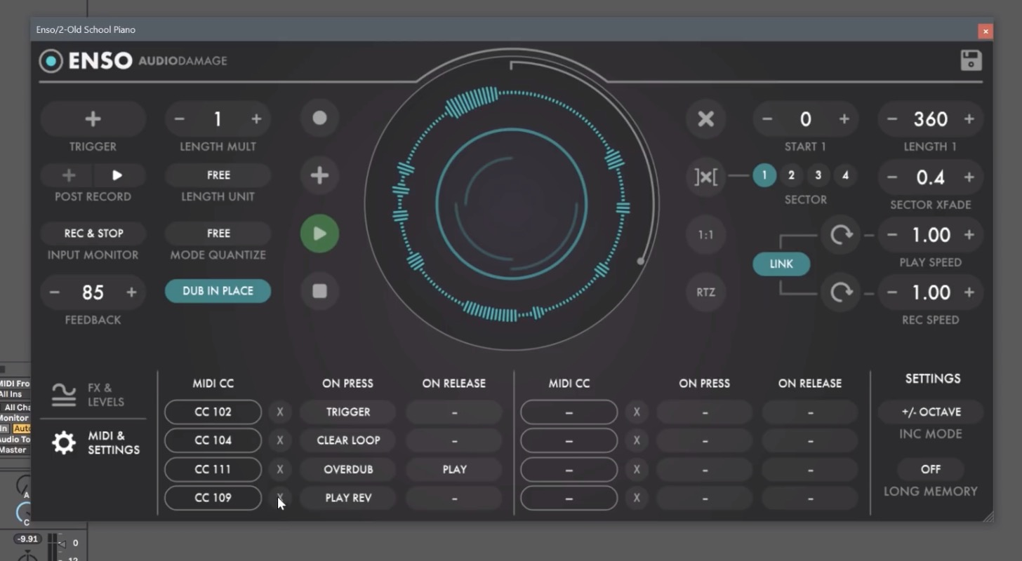 Audio Damage Enso - Loop Synth