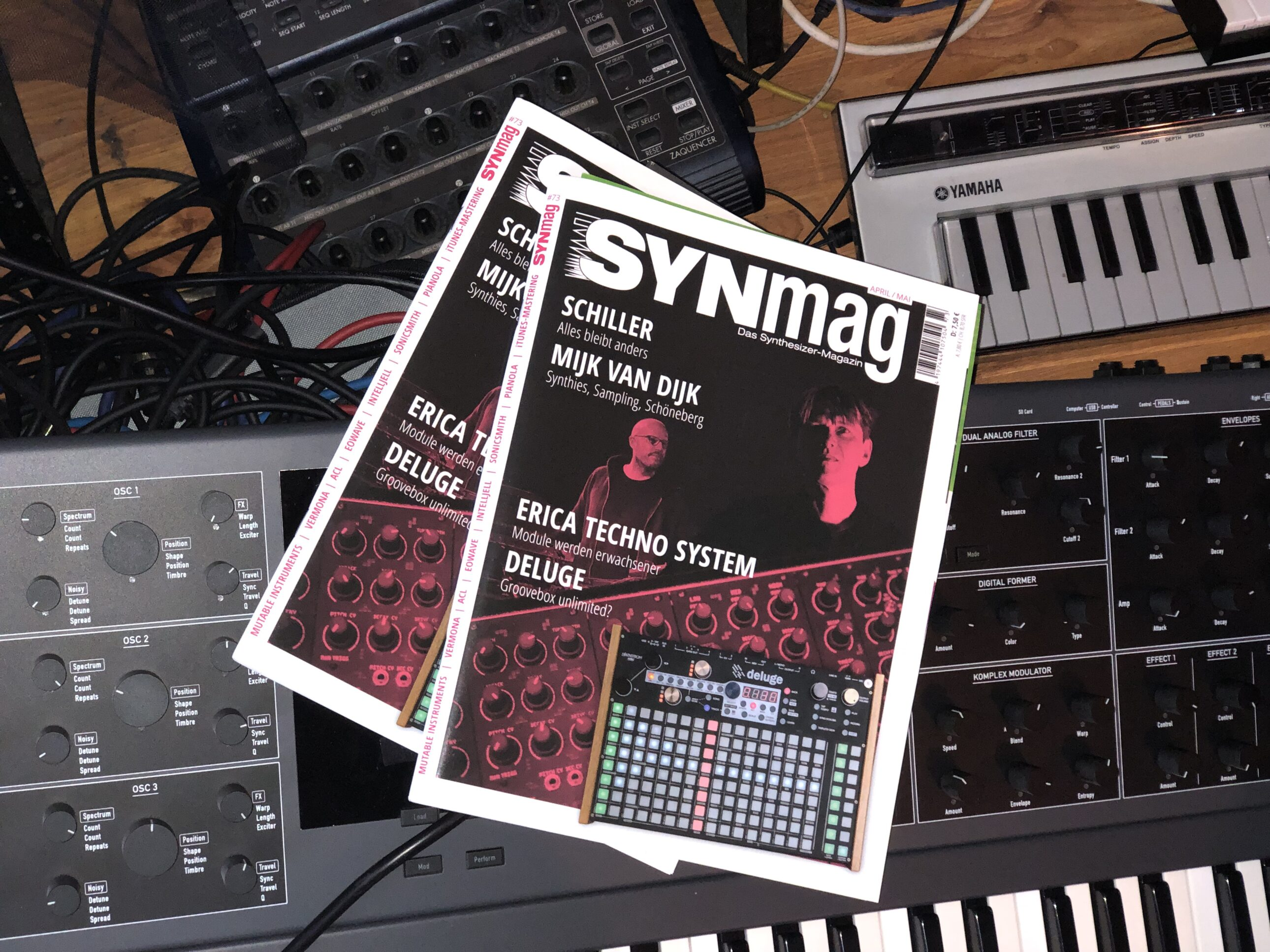 SynMag 73 Synthesizer-Magazin