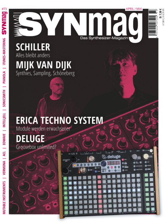 SynMag 73 Das Synthesizer-Magazin