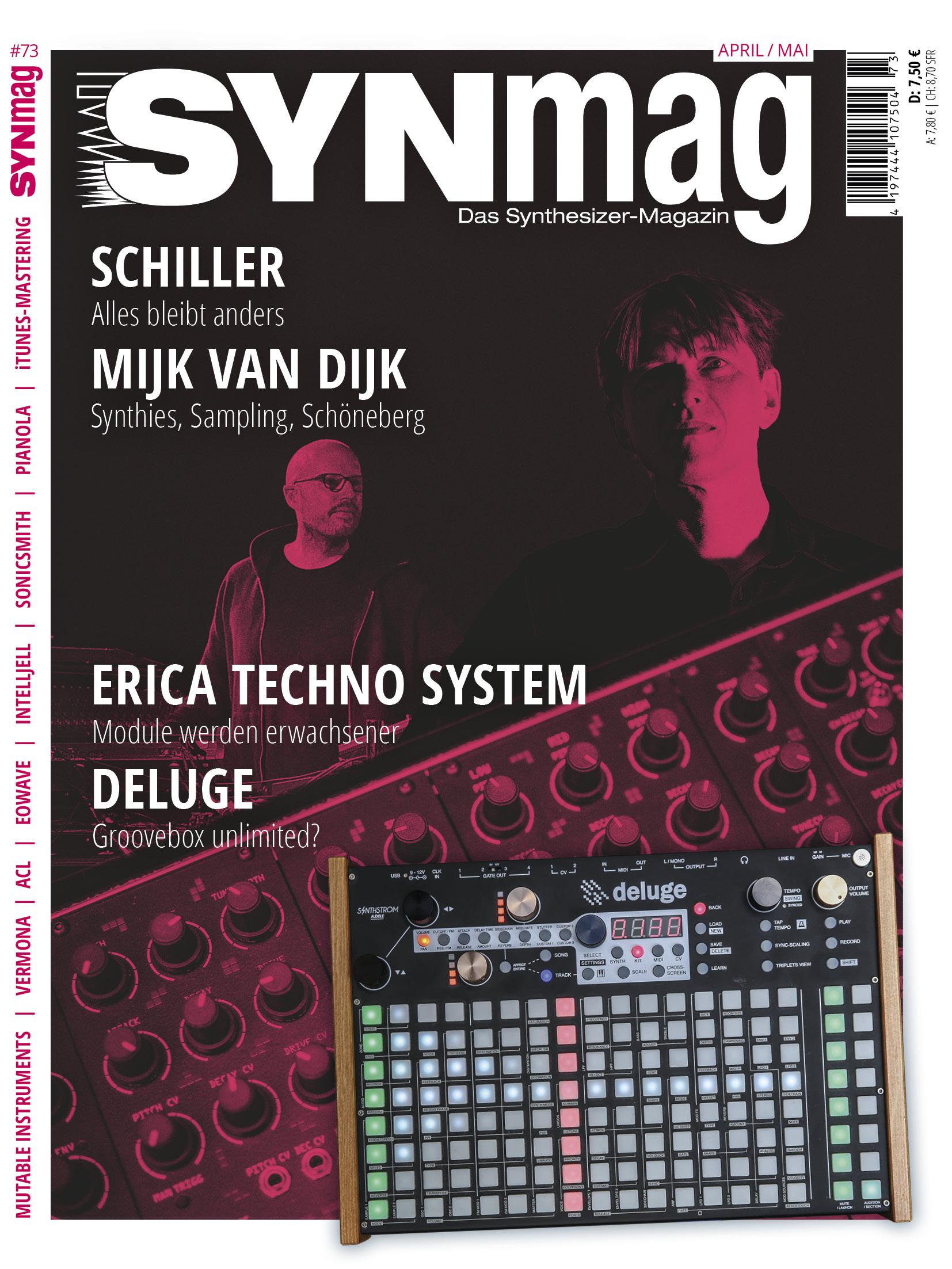 SynMag 73 Das Synthesizer-Magazin