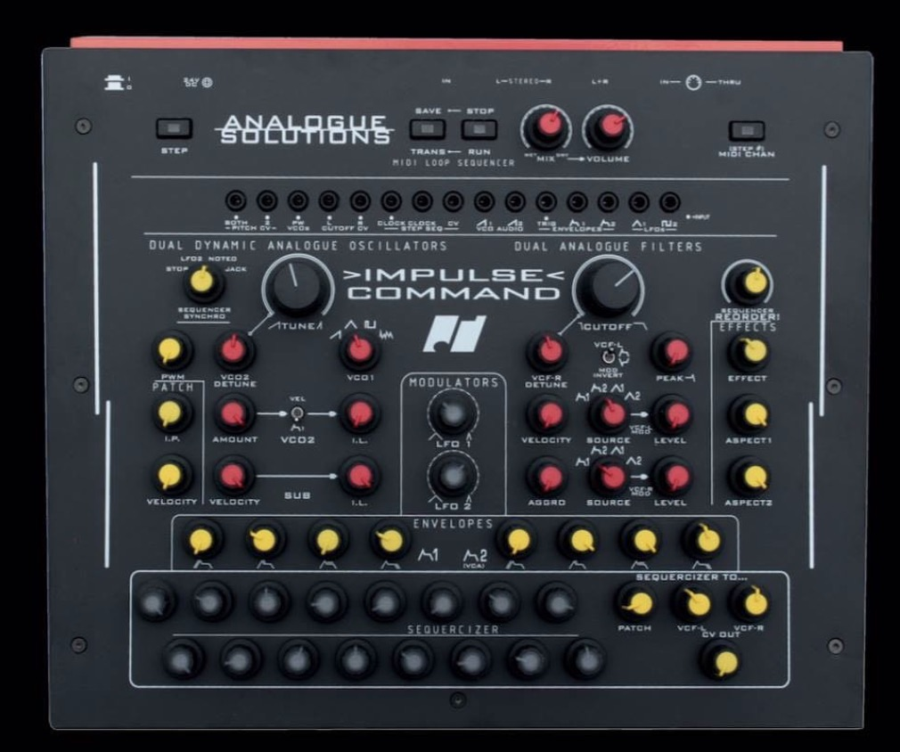 analogue solutions - impulse command synth