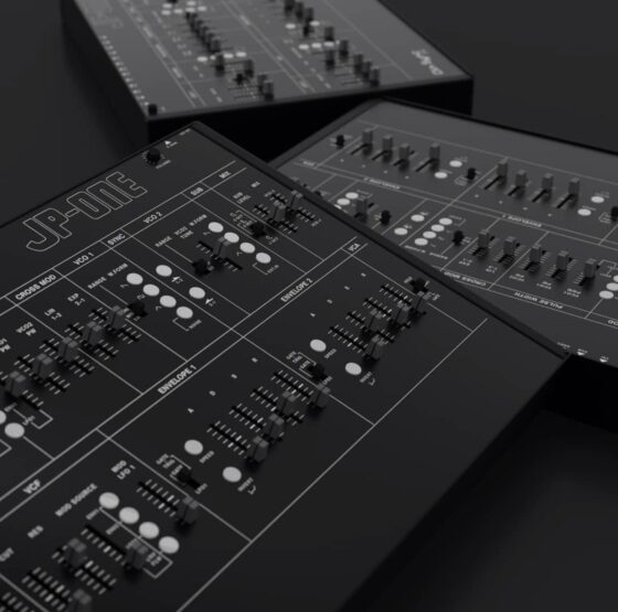 Dinsync JP-One Synthesizer Detail