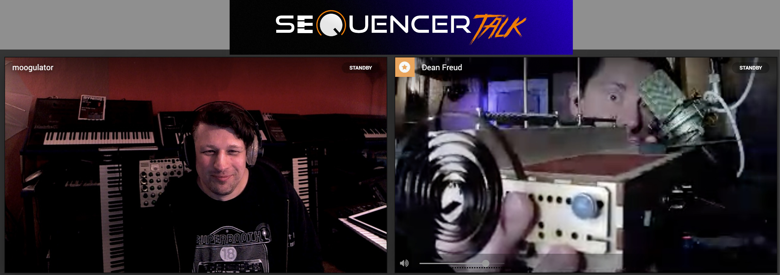 Sequencer Talk 7 Kontaktmicrophon