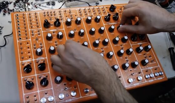 Soma Pulsar 23 Synthesizer
