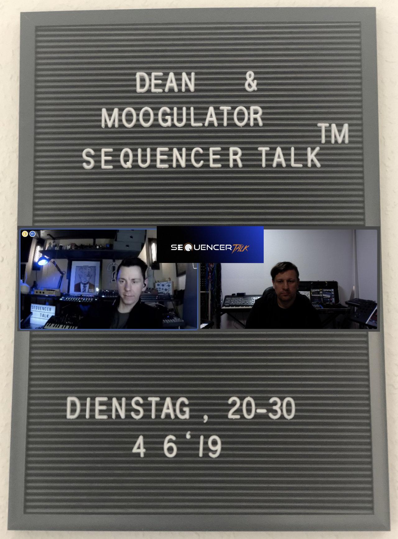 sequencertalk11 käsereibe MacPro und FM Synthese