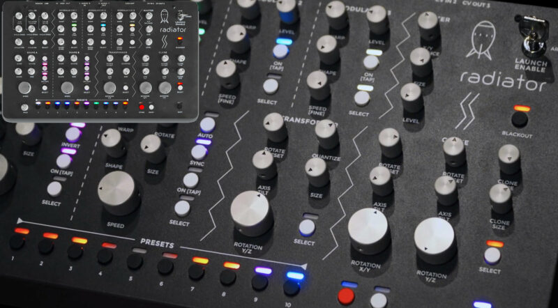 Updates im Sommer - Synthesizer - Radical Frequencies SH-1 Filter, LaserSynth, und co..