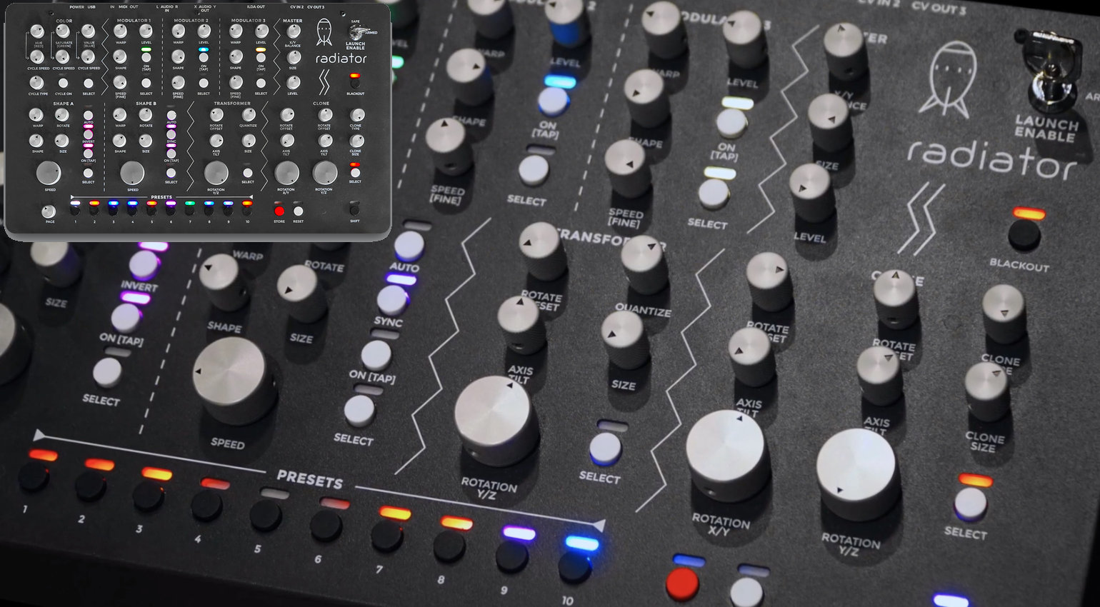Sommer Synthesizer Updates