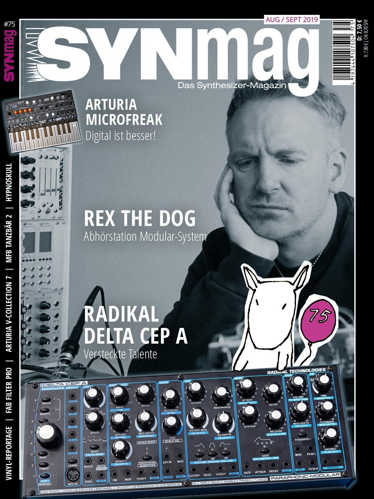 SynMag 75 - Das Synthesizer-Magazin