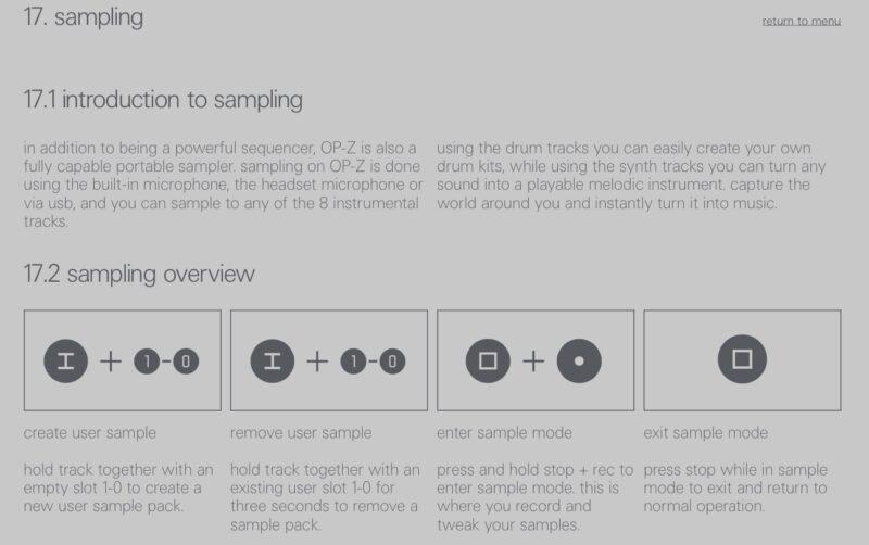 OP-T Sampling jetzt möglich - Drum und Tonal Modes.