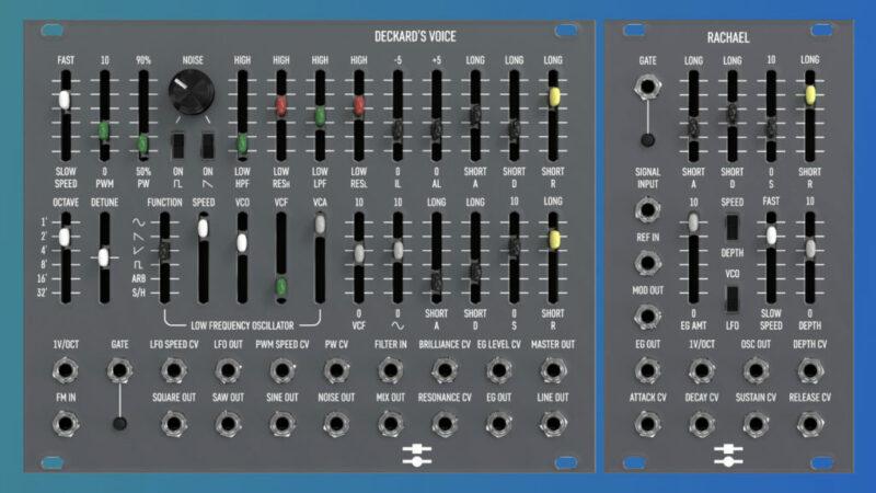 Black-Corp Rachael und Deckard's Voice  - CS80 Kanal