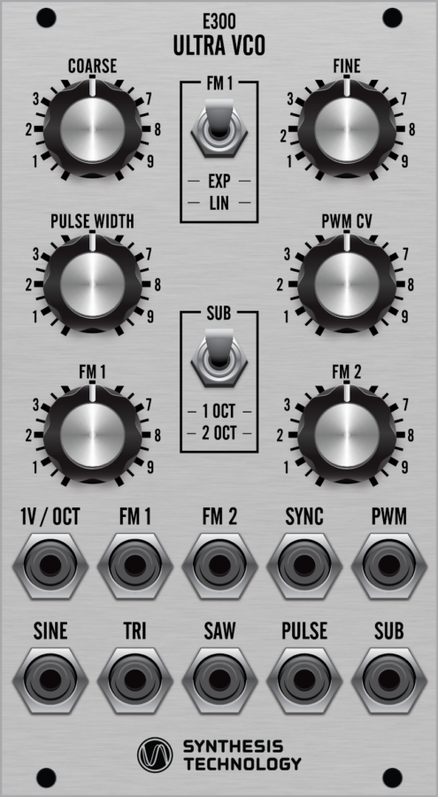 Synthesis Technology E300 E-Mu Modular VCO