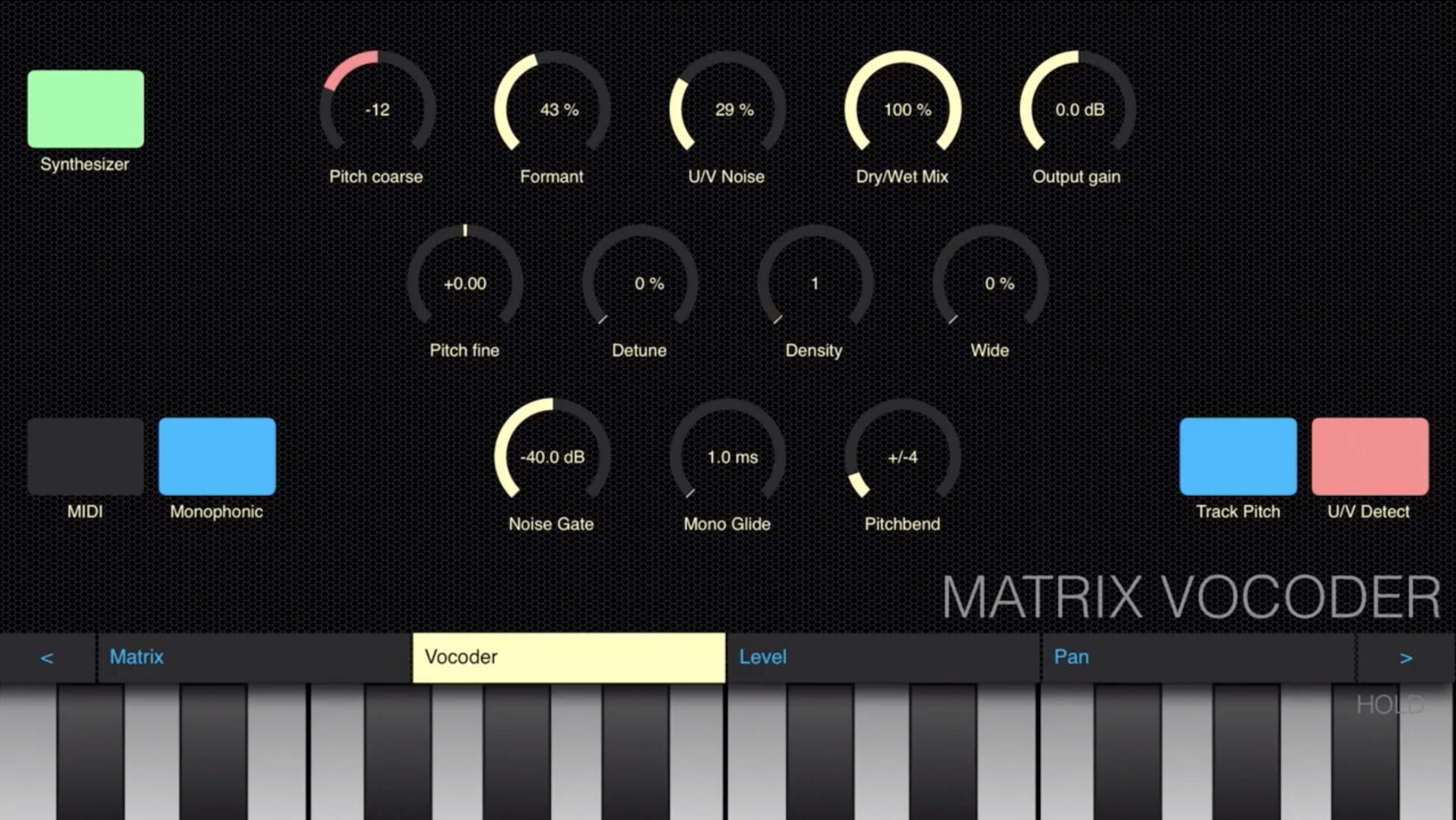 Matrix-Vocoder Virsyn