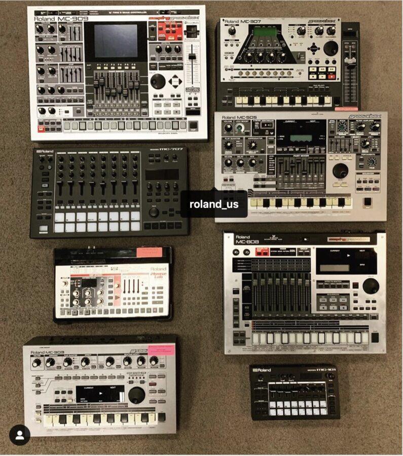 Roland-Groovebox-Vergleich
