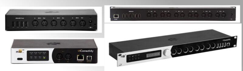 iConnectivity MIDI Interface Mio XM/XL mit USB Host und Ethernet