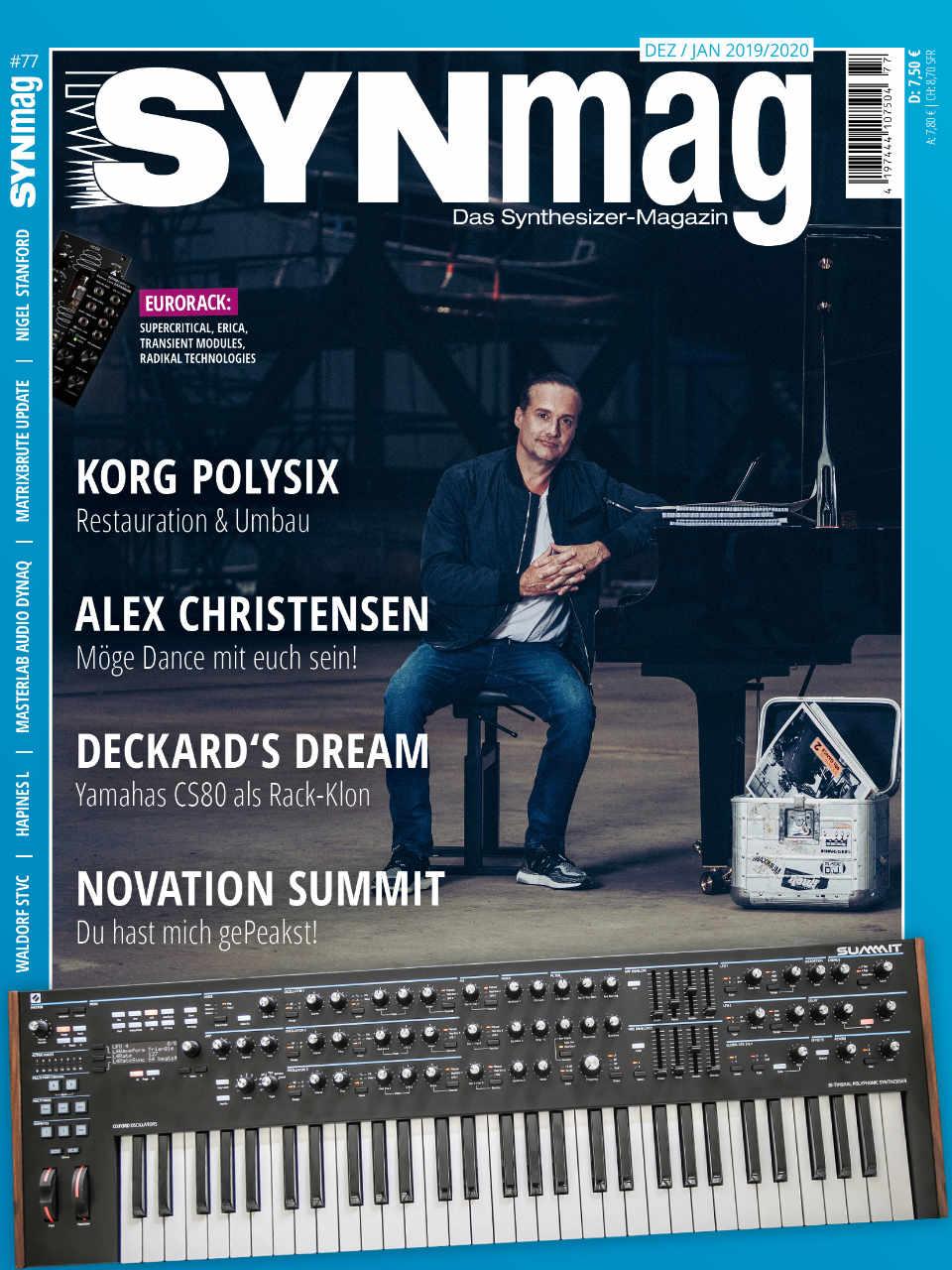 SynMag 77 - Das Synthesizer-Magazin