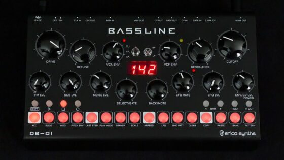 Erica DB01 Bassline Synth