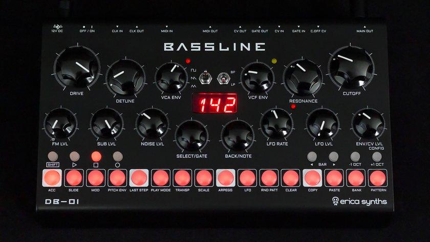 Erica DB01 Bassline Synth