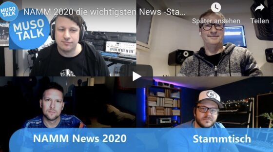 musotalk NAMM 2020 news