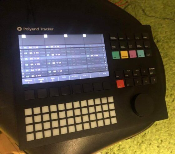Polyend Tracker Sequencer