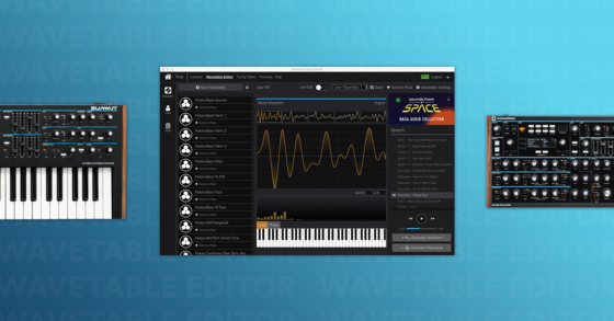 Novation Wavetable Editor
