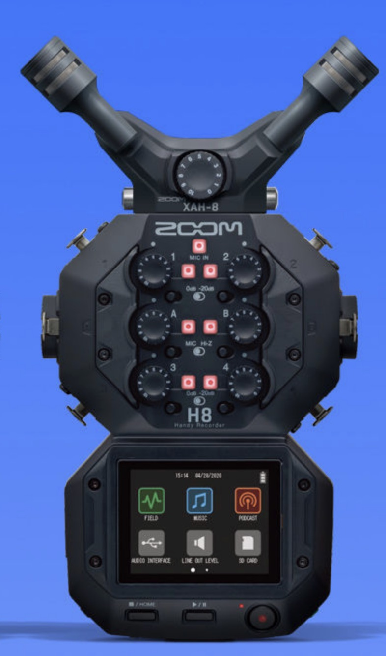 Zoom H8 Recorder