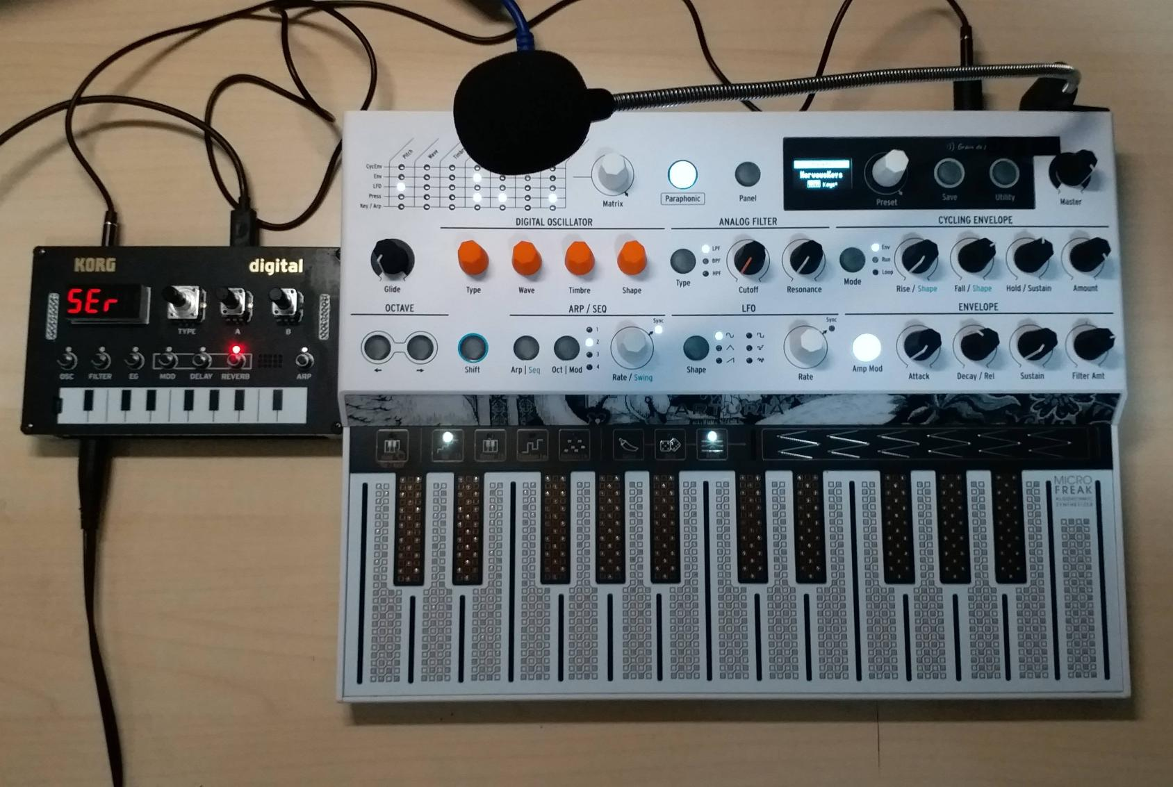 microfreak vocoder mode