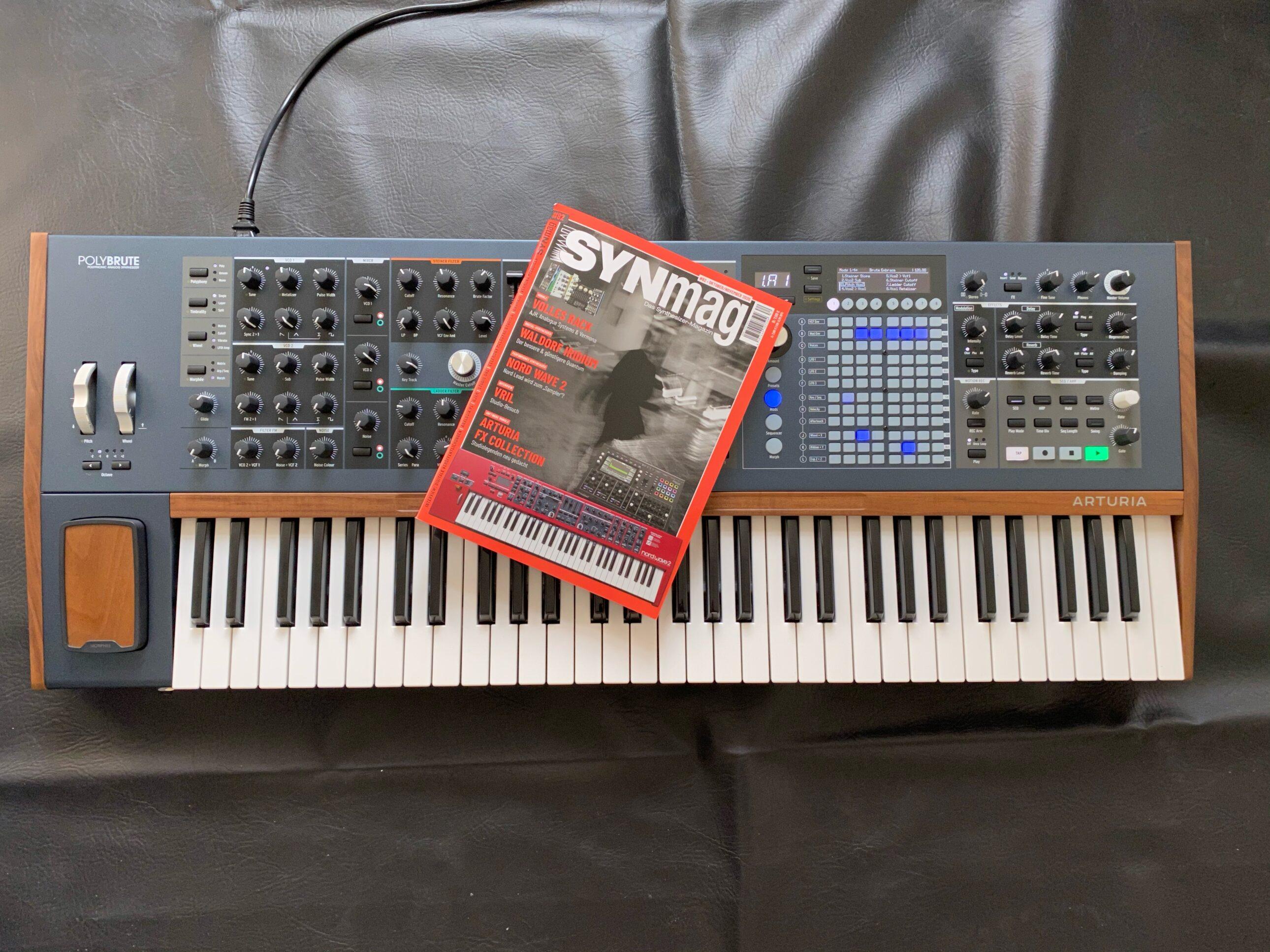 Arturia Polybrute im SynMag 84