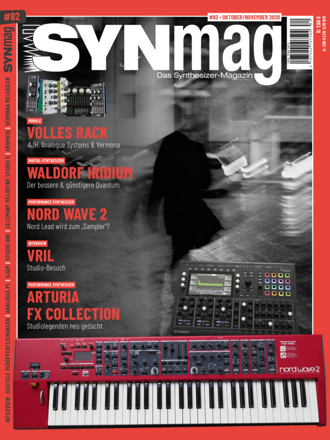 Synmag 82 Das Synthesizer-Magazin