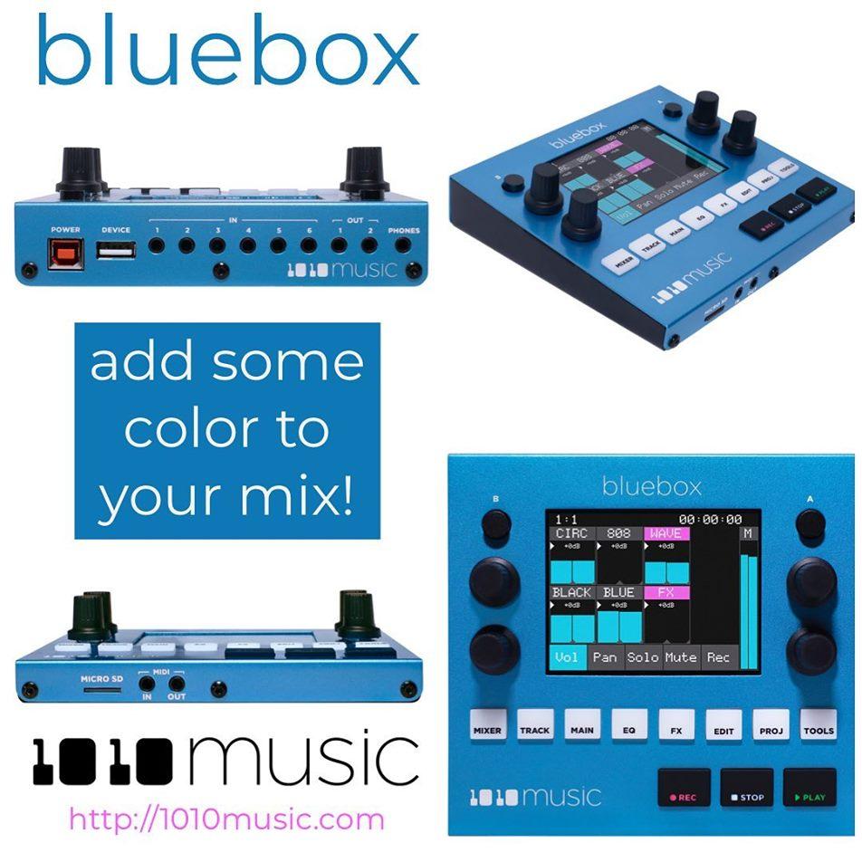 1010 Bluebox Mixer / Recorder