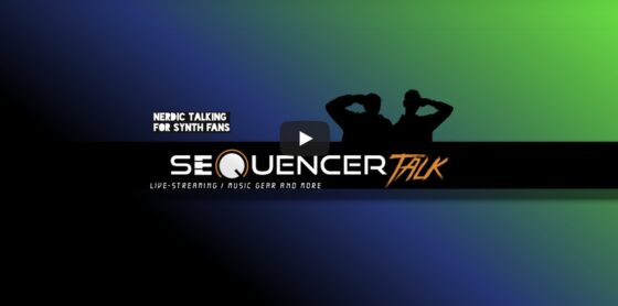 SequencerTalk Videocast Synthesizer auf Youtube