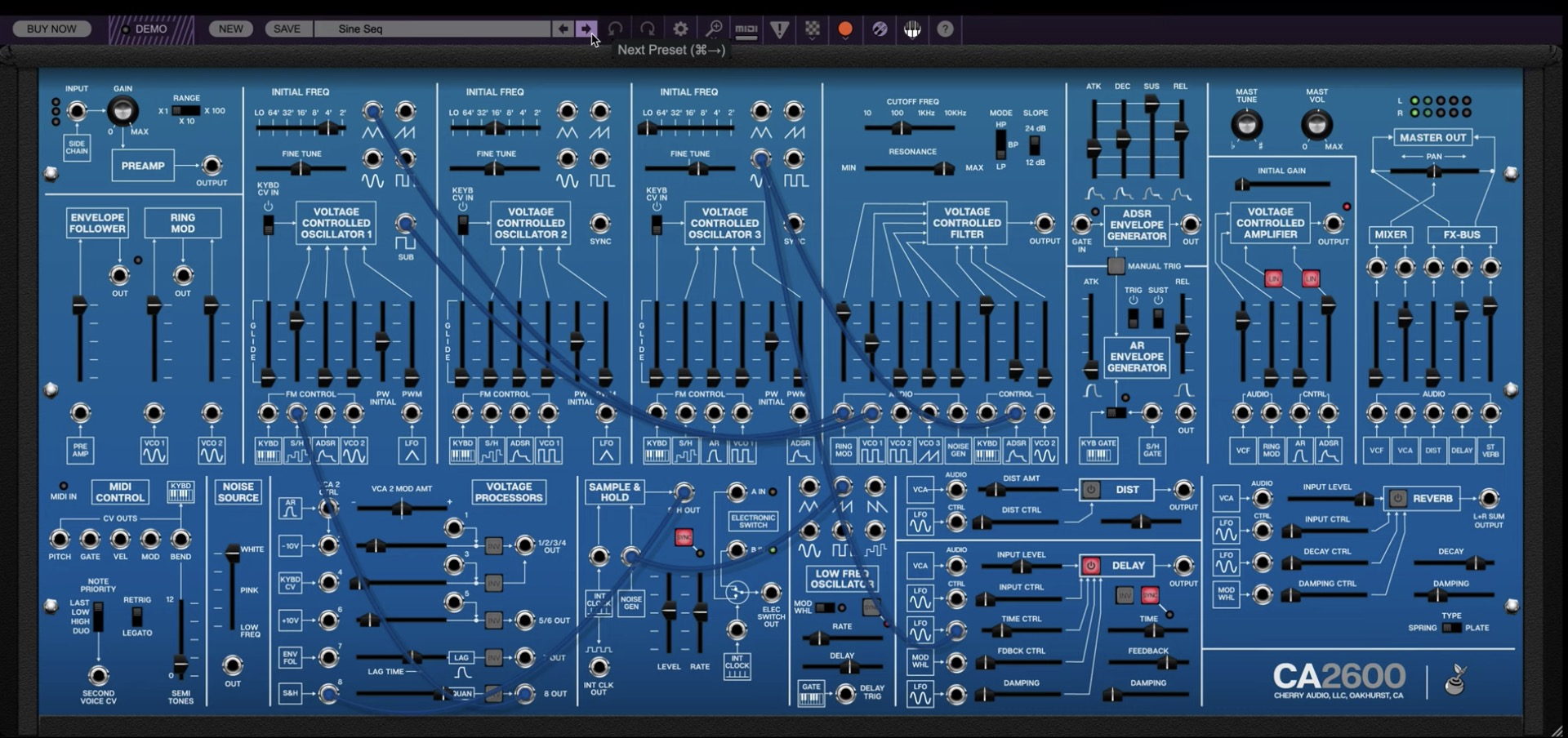 Cherry Audio CA2600 ARP2600 Emulation