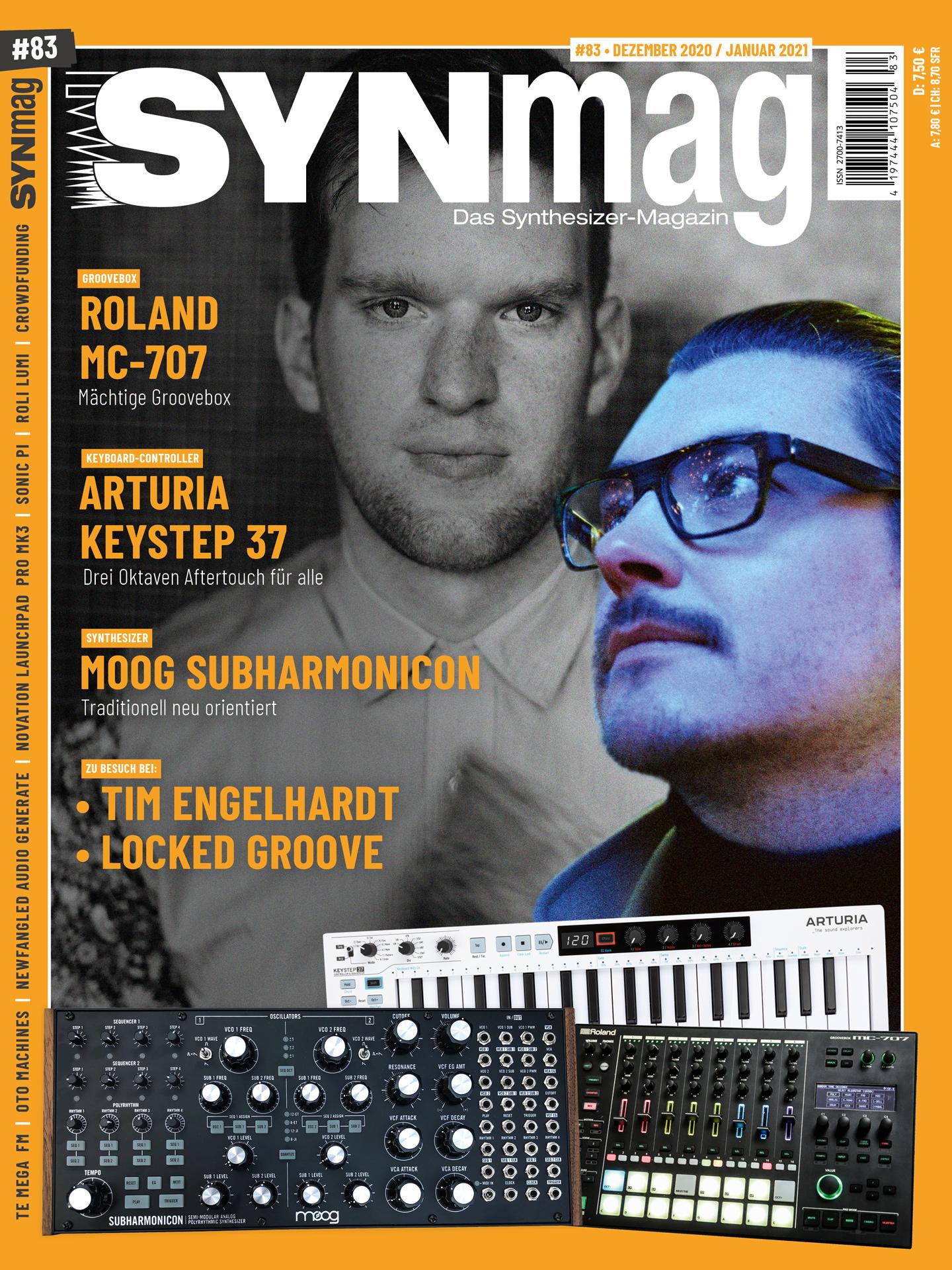 Synmag 83 Das Synthesizer-Magazin