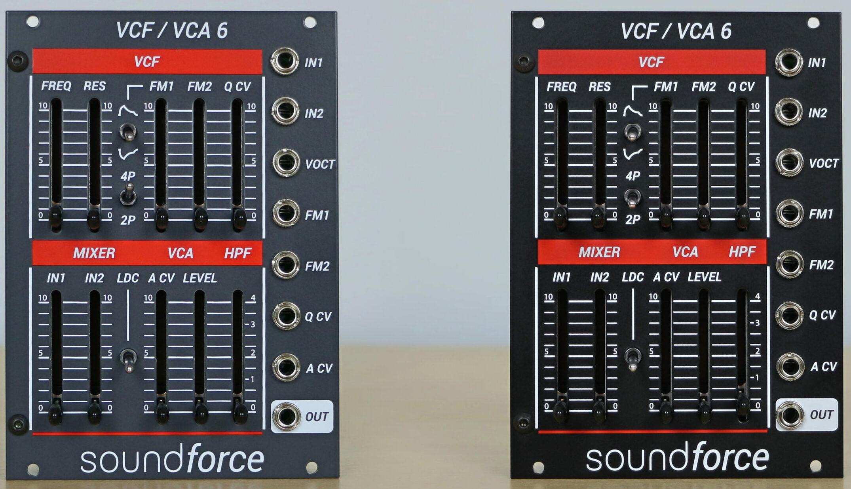 Soundforce VCF VCA 6