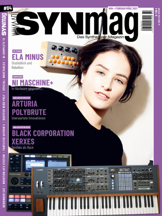 SynMag 84 Cover - Das Synthesizer-Magazin