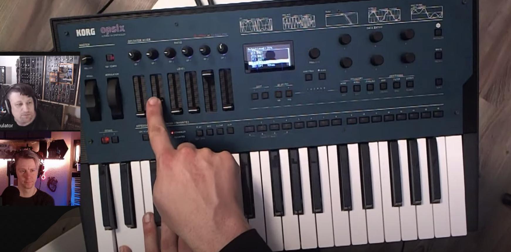 SequencerTalk und Opsix FM Synthesizer