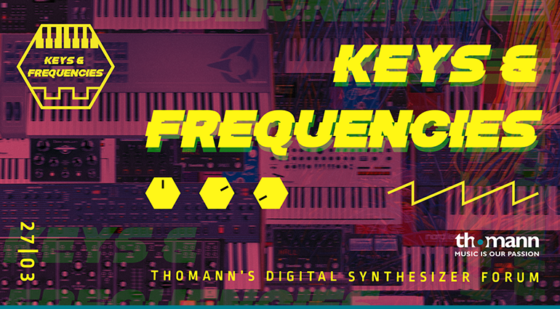 Thomann Keys & Frequencies