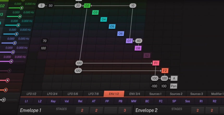 Tracktion f'em 12 OP FM-Synth