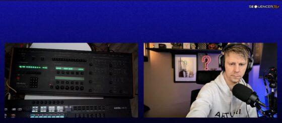 SequencerTalk 84 Oberheim Xpander Gforce OB-E