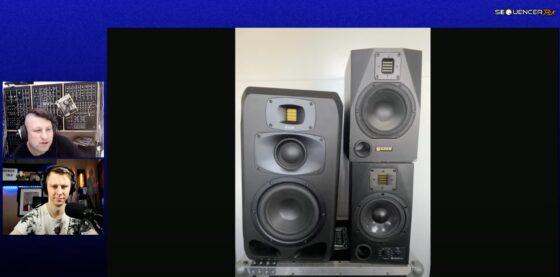 SequencerTalk 85 Monitore und Synth